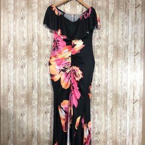 Dresses & Skirts - Hawaiian 🌺Sexy Cocktail Dress Size Large